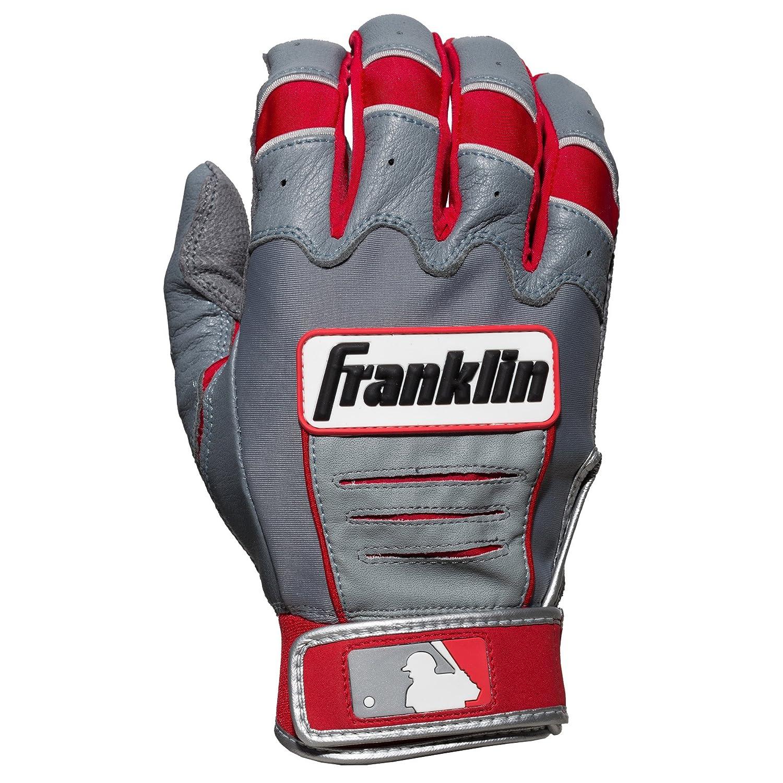 Franklin (フランクリン) スポーツ MLB CFX Pro バッティング グロ―ブ B00N4M4RM8 Small グレー/レッド グレー/レッド Small