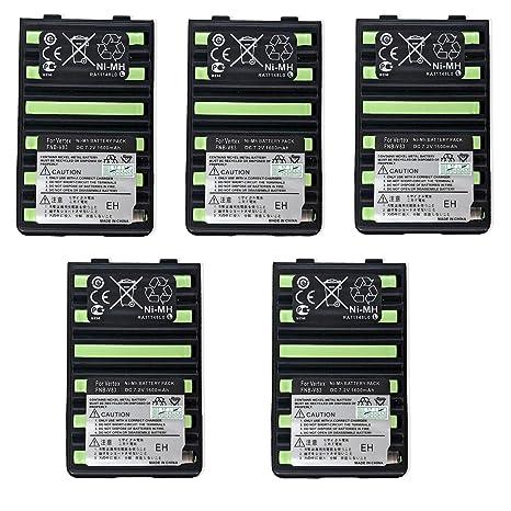 Two-Way Radio Battery for Standard Horizon HX370S HX270S HX600S HX500S FNB-83