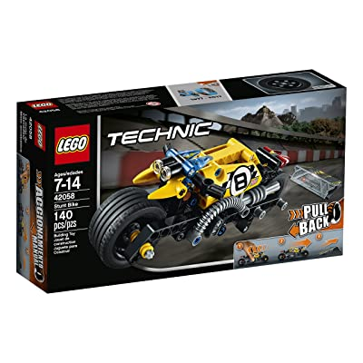 LEGO Technic Stunt Bike 42058 Advanced Vehicle Set: Toys & Games