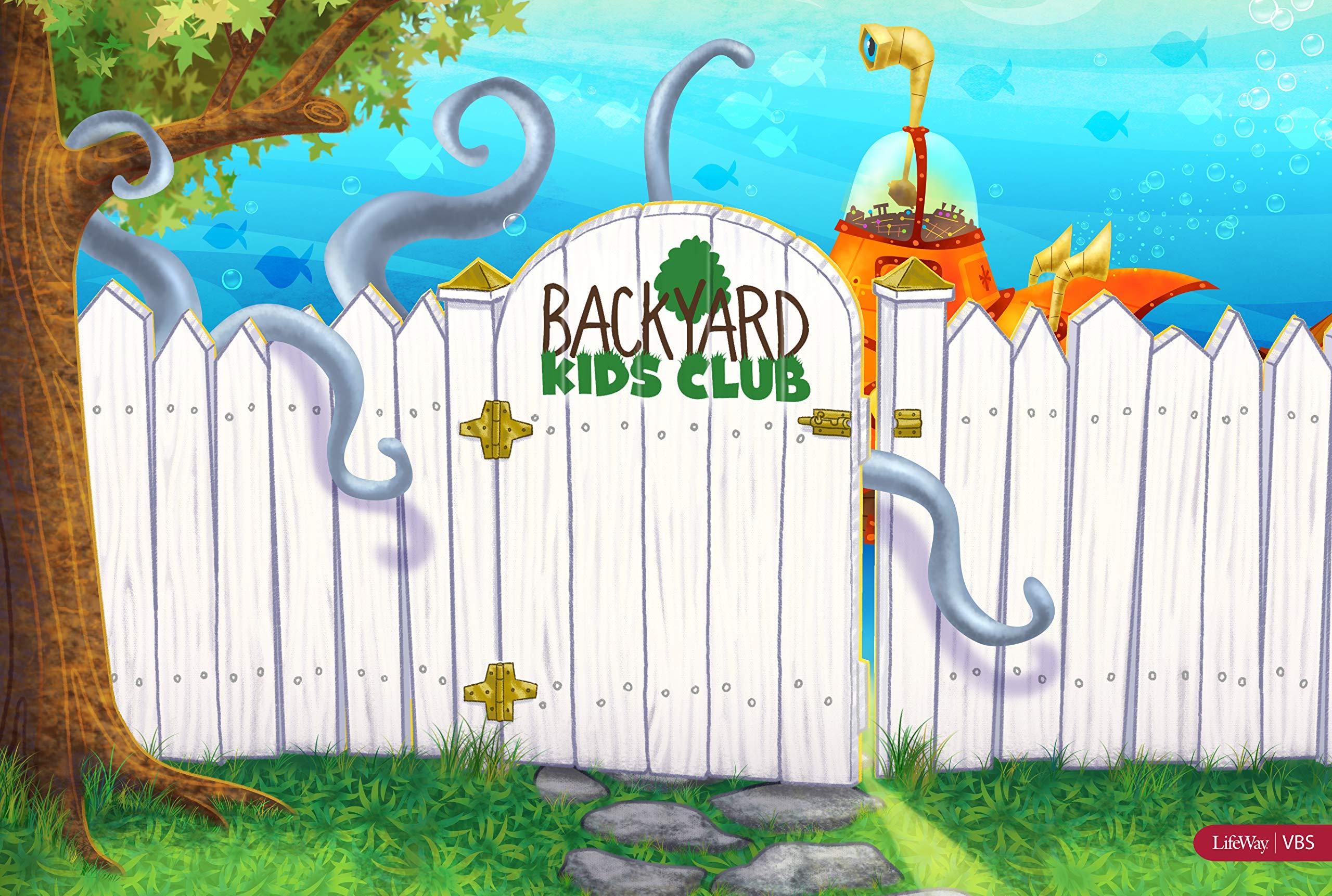 VBS 17 Submerged Backyard Kids Club Kit: LifeWay Kids