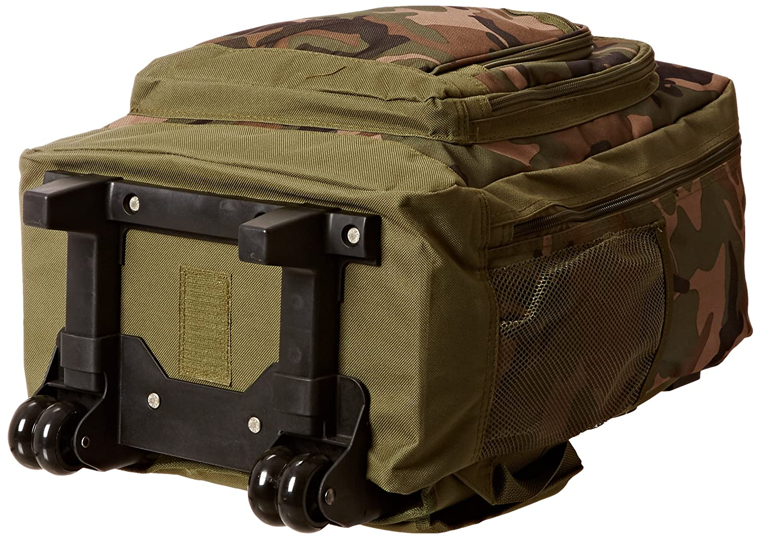 Amazon.com | Everest Woodland Camo Wheeled Backpack, Camouflage, One Size | Backpacks