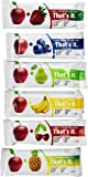 That's it Super Sampler, Pack of 12, (2 Apple+Blueberry, 2 Apple+Strawberry, 2 Apple+Pineapple, 2 Apple+Pear, 2 Apple…
