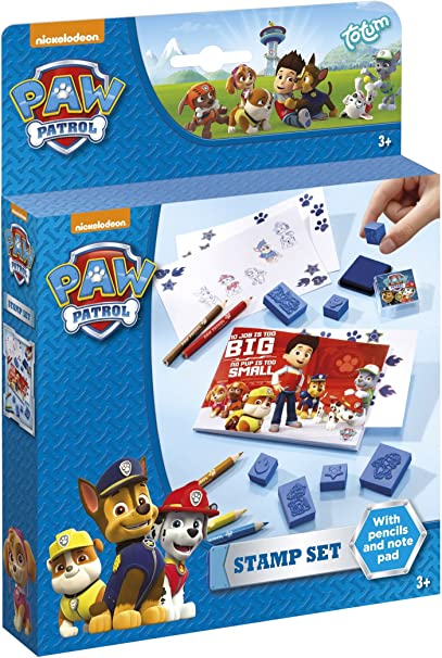 Multi-Colour Totum Paw Patrol 720336/ Paw Patrol Stamp Set