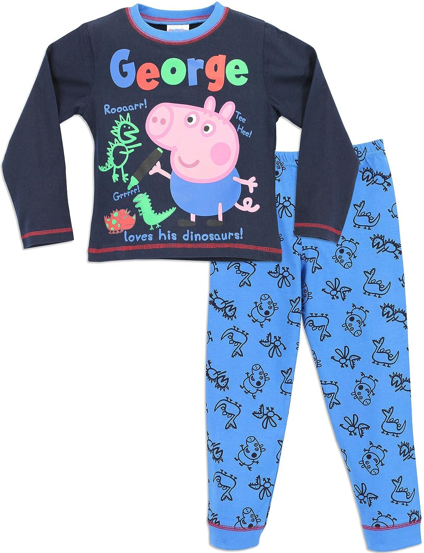 George Pig - Pijama para Niños - George Cerdito - 6 a 7 Años: Amazon.es: Ropa y accesorios
