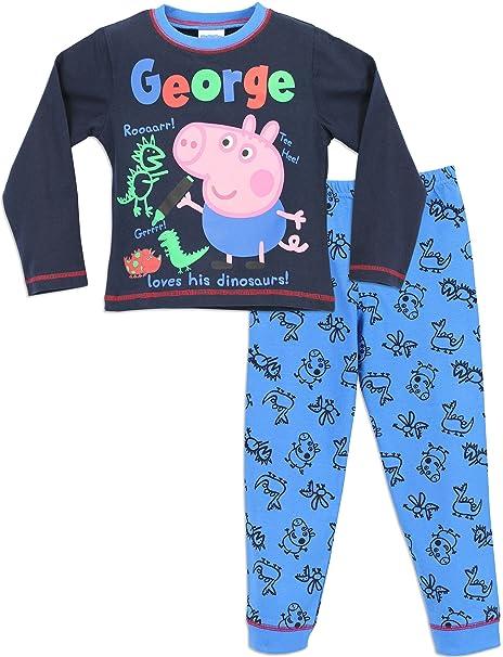 George Pig - Pijama para Niños - George Cerdito - 18 a 24 Meses