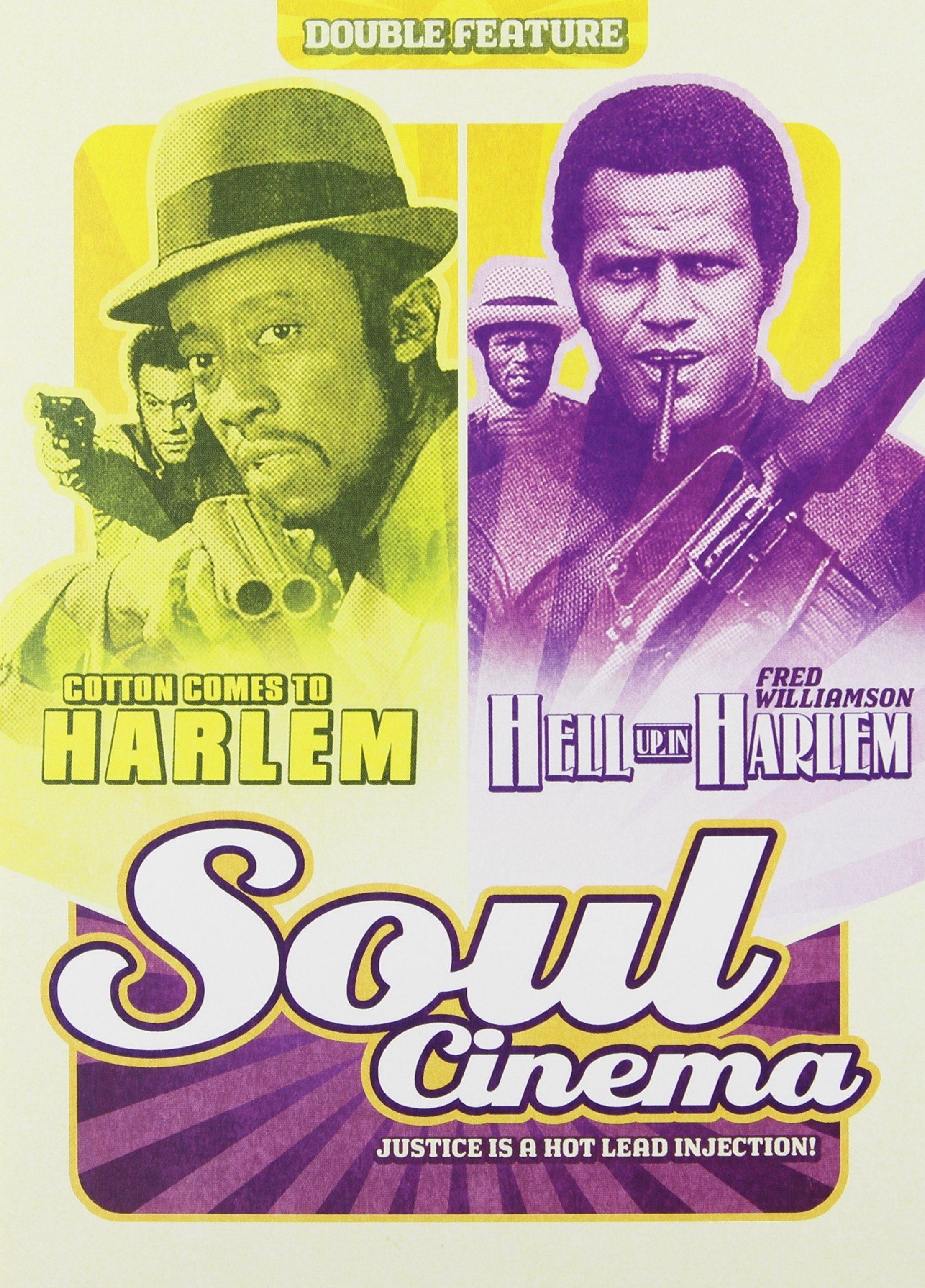 Soul Cinema Double Feature: Cotton Comes to Harlem and Hell up in Harlem