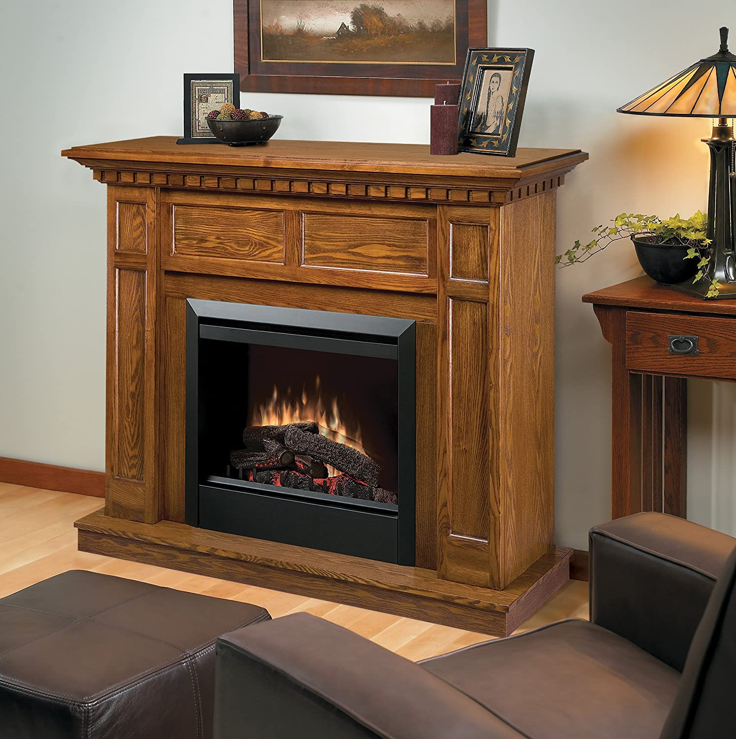 dimplex dfp4743o caprice traditional electric fireplace mantle
