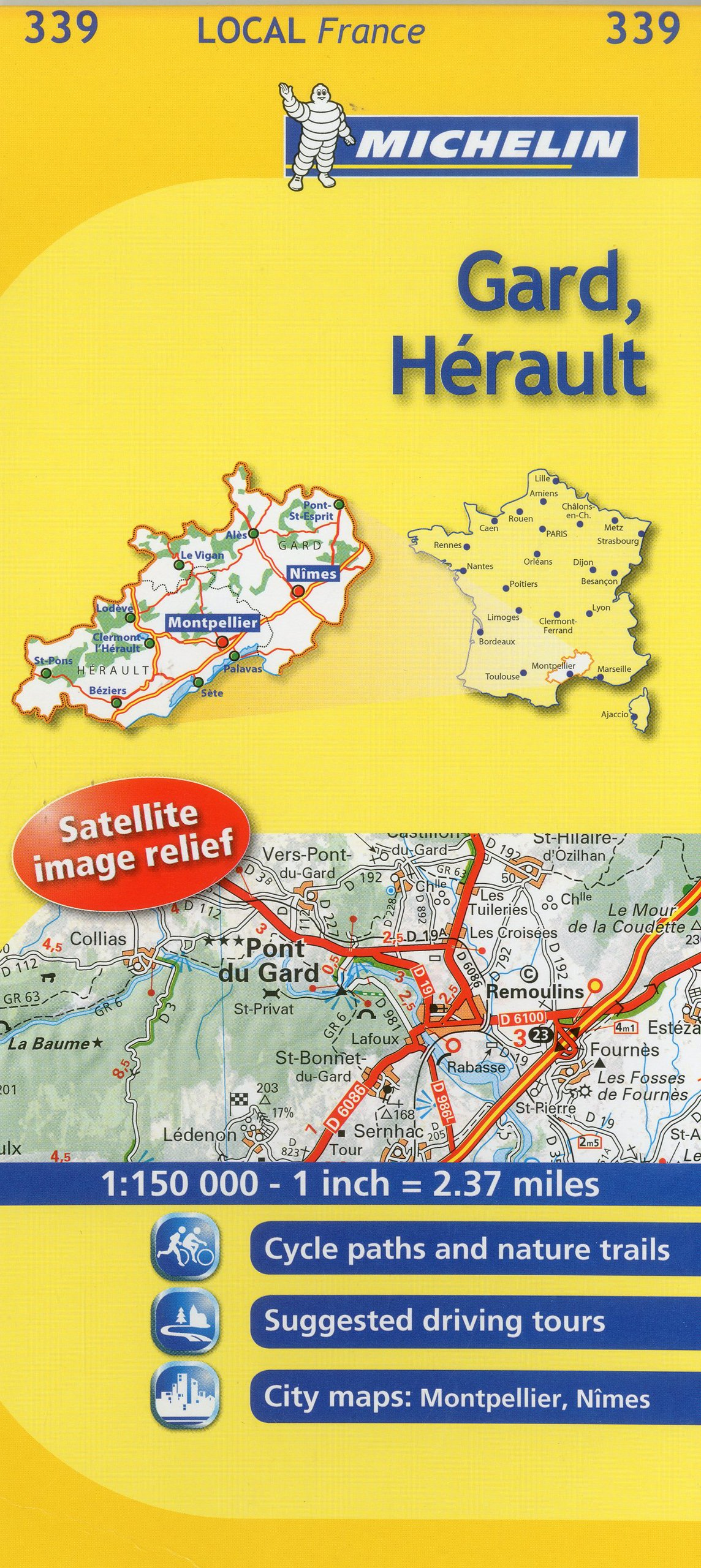 Mapa Local Gard, Hérault (Mapas Local Michelin): Amazon.es: Michelin Travel Publications: Libros en idiomas extranjeros