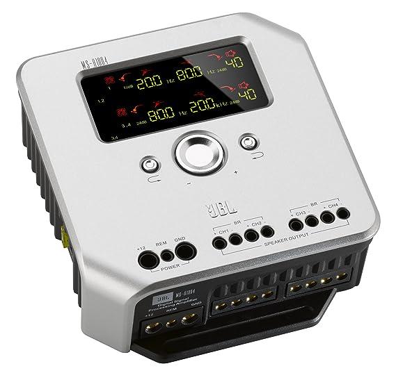 JBL ms-a1004 - Amplificador HiFI de 4 canales para el coche: Amazon.es: Electrónica