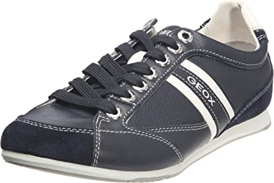 Boquilla dolor de estómago Desempacando  Amazon.com | Geox Men's Andrea 6 Sneaker | Fashion Sneakers