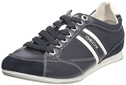 Geox U Andrea P Men's Low Top Sneakers Blue Royal 10.5 UK