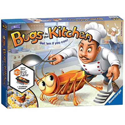 Bugs in the Kitchen - Children's Board Game, Standard: Toys & Games