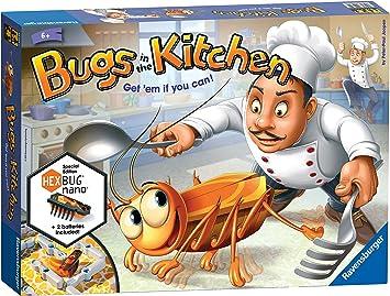 Ravensburger - Juego de Habilidad Bugs in The Kitchen, de 2 a 4 ...