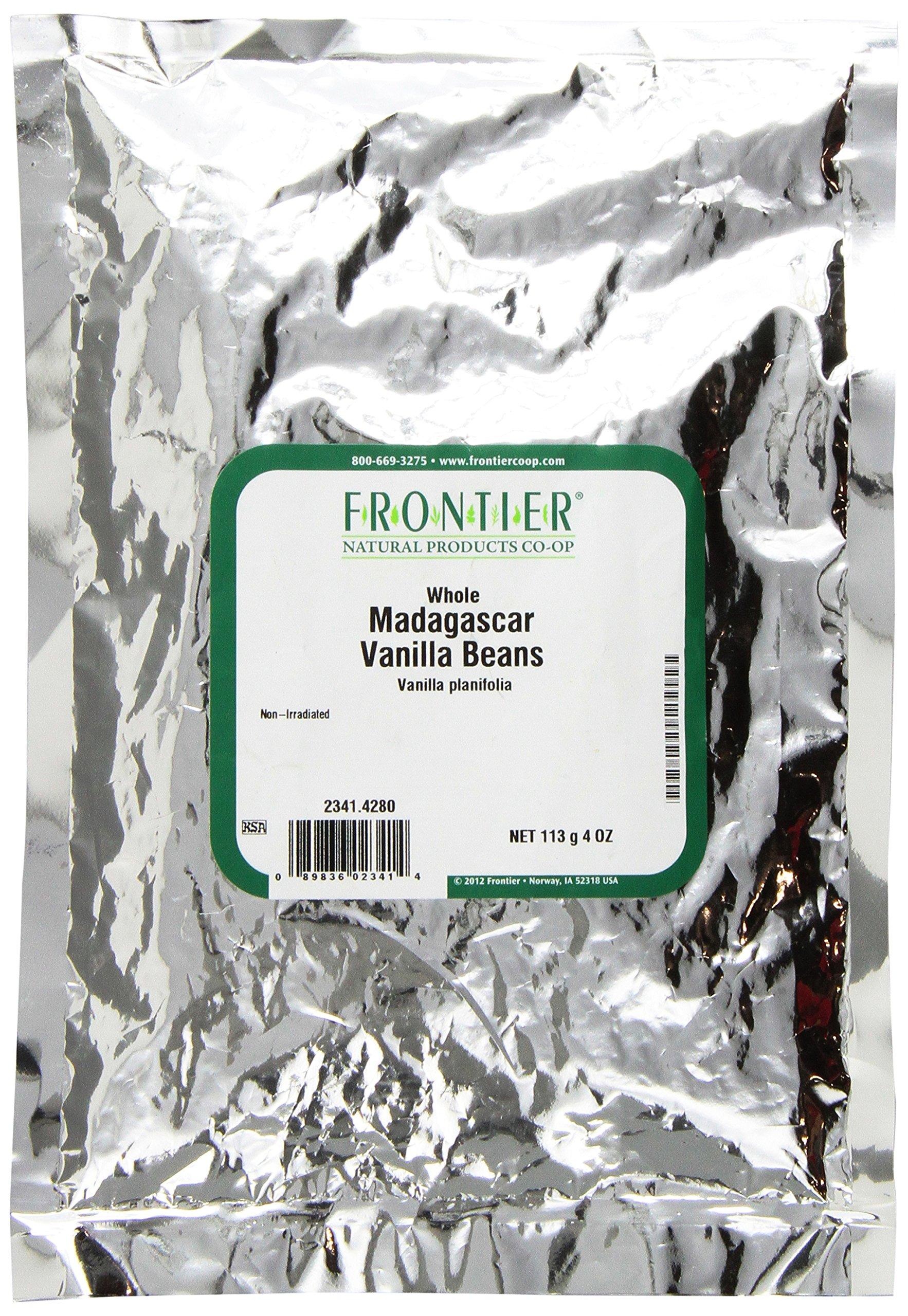 Frontier Madagascar Vanilla Beans, 4 Ounce