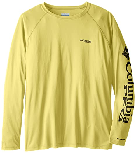 5767a2fd Columbia Men's PFG Terminal Tackle Long Sleeve Tee - Big , Sunlit, Grill  Logo,