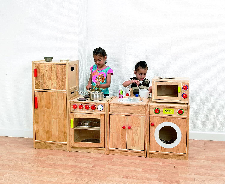 TickiT 72215 Conjunto de 5 electrodomésticos de madera: Amazon.es ...