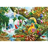 Gibsons Exotic Friends Jigsaw Puzzle (1000 Pieces)