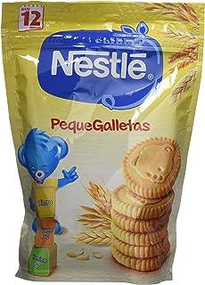 Nestlé PequeGalletas Para bebés a partir de 12 meses - Paquete de Galletitas Para bebés de