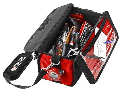 FACOM BS.SMBCM1PG - Bolsa para herramientas compacta, con 15 herramientas
