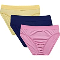 Glus Women's Cotton Panties (Pack of 3)