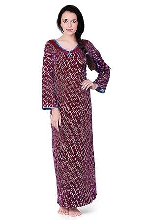 d4a75498b4 Long Sleeve Cotton Jersey Nighty