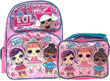 "L.O.L Surprise Small School Backpack 12/"" Girls Bag Pink LOL Bag New"