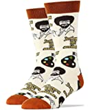Oooh Yeah Men's Luxury Combed Cotton Crew Socks Bob Ross …