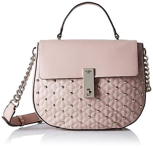 GUESS Mckenna Pink Top Handle Flap