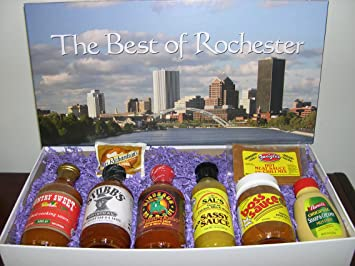 Amazoncom Best of Rochester Gift Box Gourmet Snacks And Hors