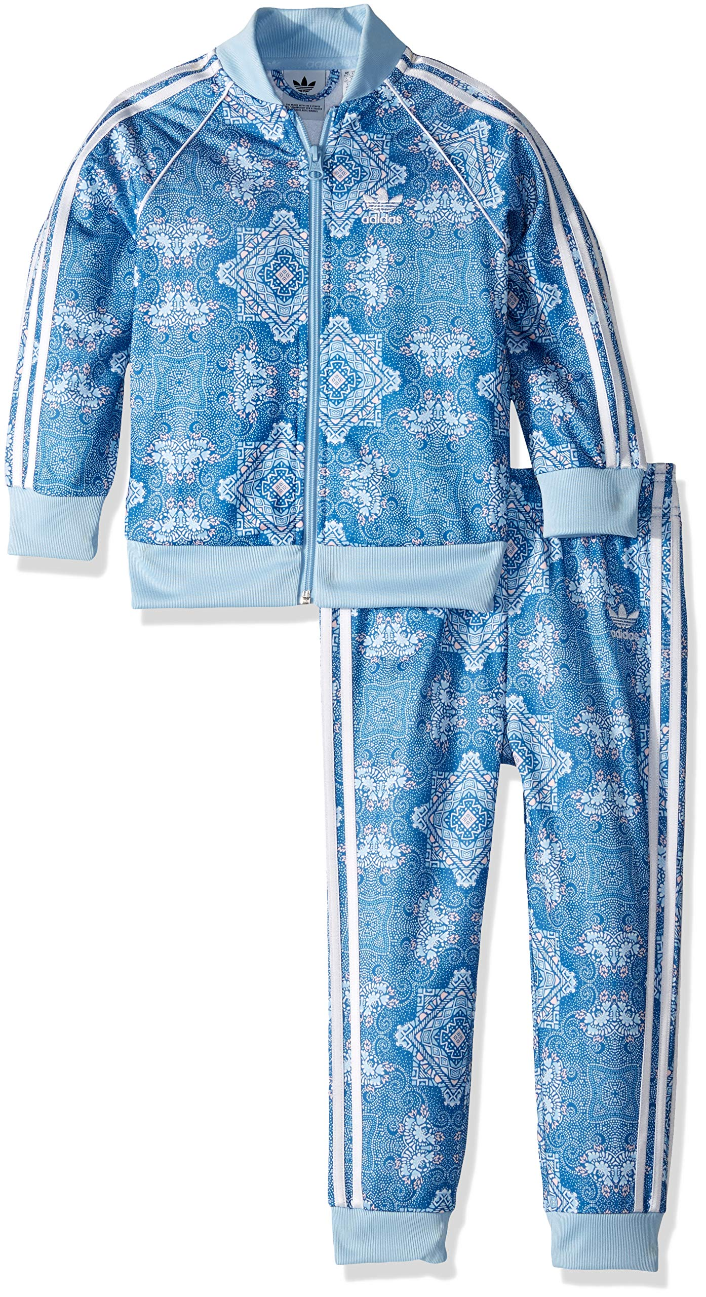 adidas Originals unisex-child Toddler Culture Clash SST Track Suit Set, multi 3T by adidas Originals