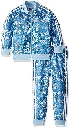 de4b7fa22f72 adidas Originals Kids' Toddler Culture Clash SST Track Suit Set, Multi 2T