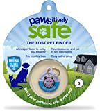 Platinum Pets Pawsitively Safe Pet Finder Dog Tag and Cat Tag