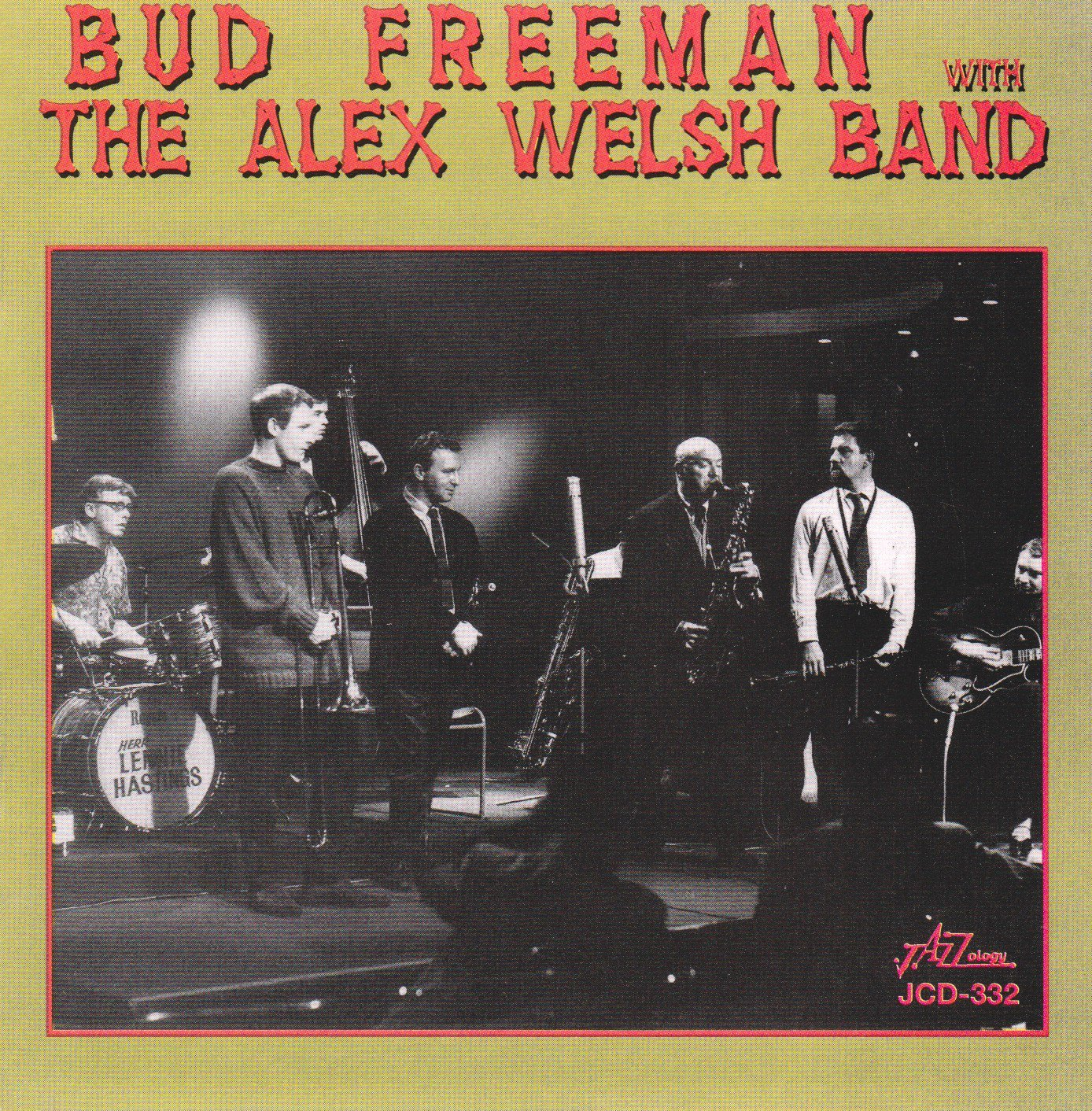 Courier shipping free Bud Freeman with the Max 84% OFF Welsh Band Alex