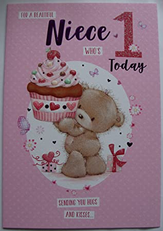 For a special niece on your 1st birthday card amazon office for a special niece on your 1st birthday card bookmarktalkfo Images