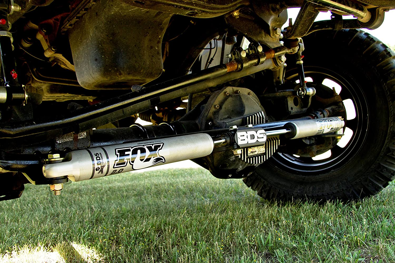 Dodge Ram 2500//3500 BDS Dual Fox 2.0 Steering Stabilizer Kit 2008-2013 4WD