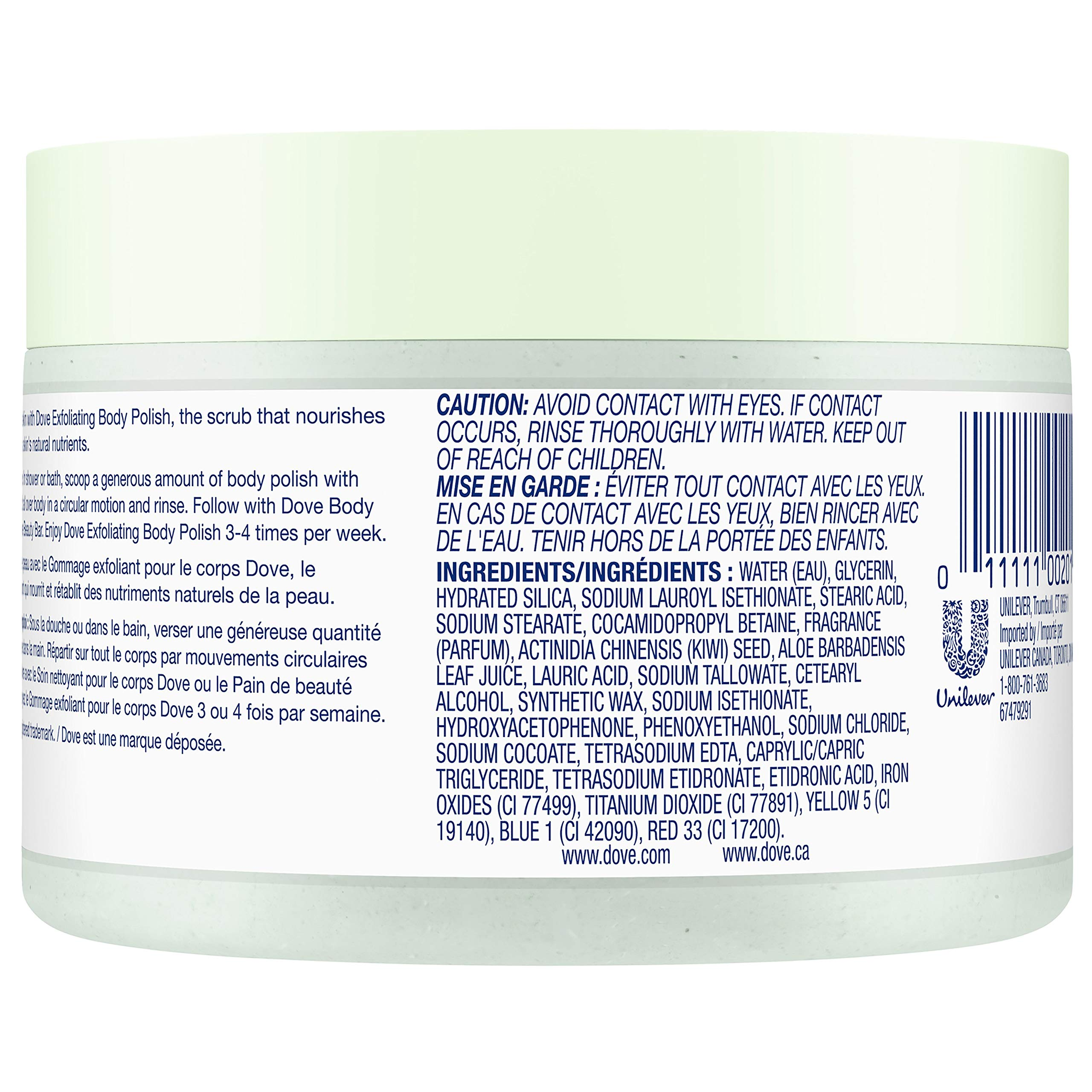 Dove Exfoliating Body Polish Body Scrub Buy Online In Israel At Desertcart