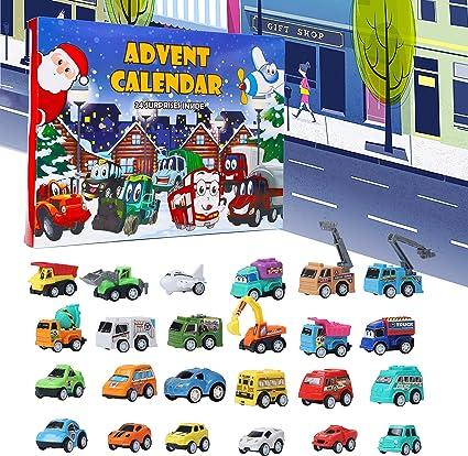 Amazon.com: Juegoal Cars Advent Calendar 2020 for Kids, Stocking