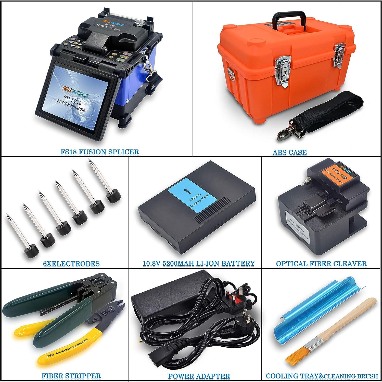 ELEGB2 f/ür FS18-C FS18-D LWL Splei/ßger/ät//Opitcal Fiber Fusion Splicer SUWOLF LWL Splei/ßger/ät Elektrode//Electrode 1 Paar