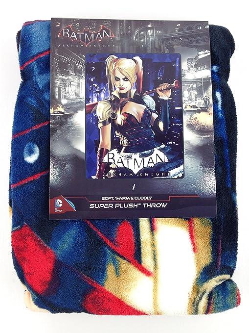 "Batman vs Superman Plush Blanket Twin 62/"" x 90/"""