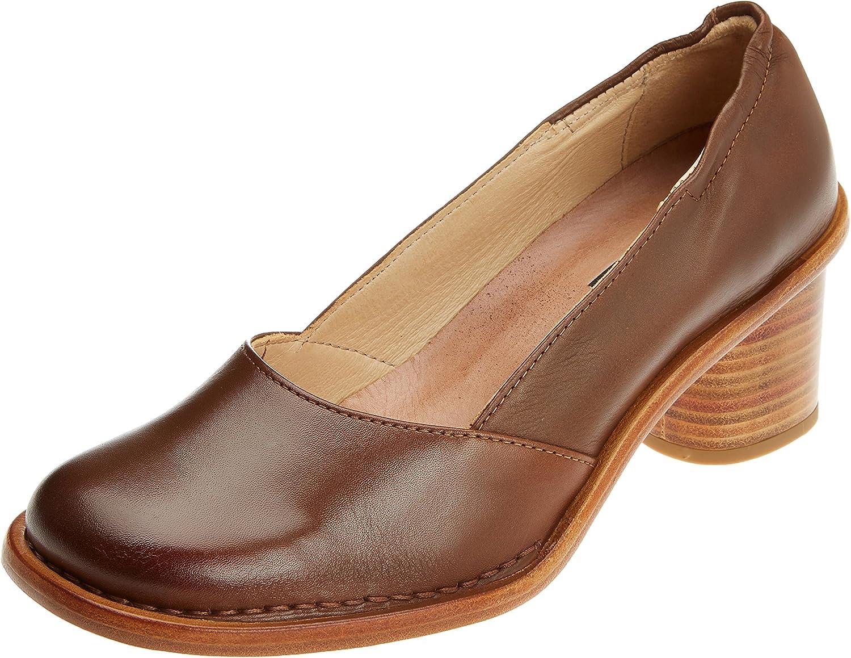 Neosens S577 Restored Skin Cuero/Debina, Zapatos de tacón con Punta Cerrada para Mujer