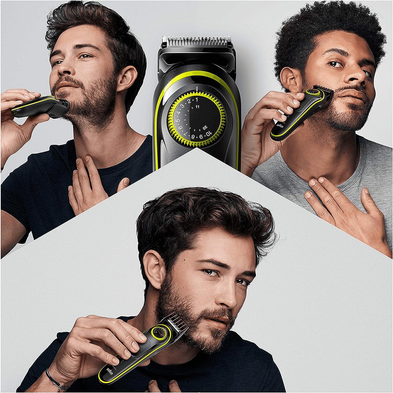 Braun Recortadora de Barba BT3241, Máquina Cortar Pelo, Recortadora de Barba y Cortapelos, para Hombre, Cuchillas Afiladas de Larga Duración, Eléctrico, Color Negro ...