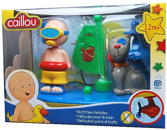 Caillo En El Bano.Amazon Com Caillou Tiempo De Bano Vehiculo Toys Games