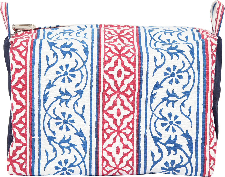 Multicolore KnitPro SMP-4/Mano Blocco Stampato Tessuto Storage Solutions marcapunto astucci