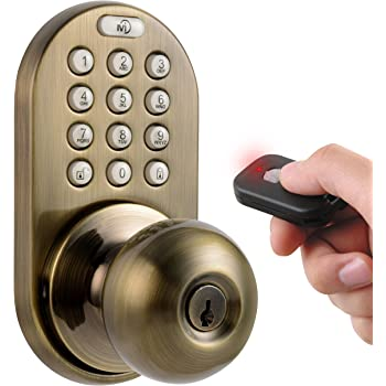 Milocks Dkk 02sn Indoor Electronic Touchpad Keyless Entry