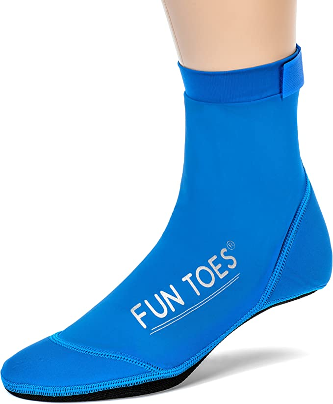 High Top Beach Volleyball Socks for sand XXSmall US Child size 12.5 ,13,1