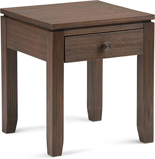 Amazon.com: Simpli Home Cosmopolitan SOLID WOOD 18 inch Wide