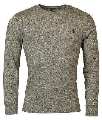 9973dd1d Polo Ralph Lauren Men's Long Sleeve Pony Logo T-Shirt - Small - Dark Vintage