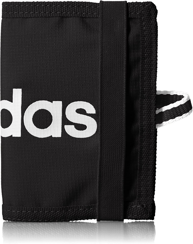 Ahora Tacón apoyo  adidas Lin Pro Wallet Black/Black/White/Black, NS: Amazon.co.uk: Sports &  Outdoors