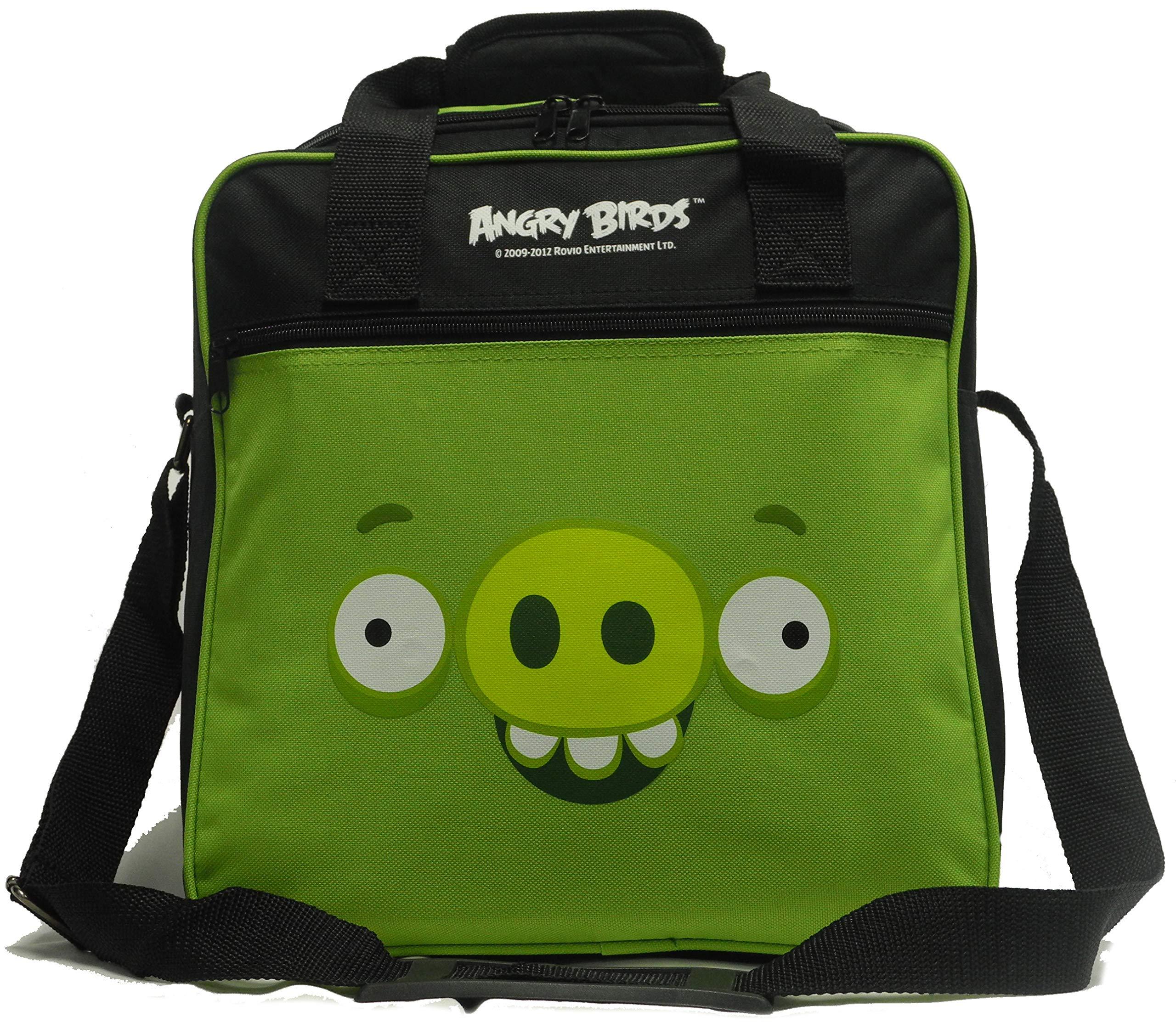 Ebonite Angry Birds Single Ball Bowling Bag (Green Minion Pig)