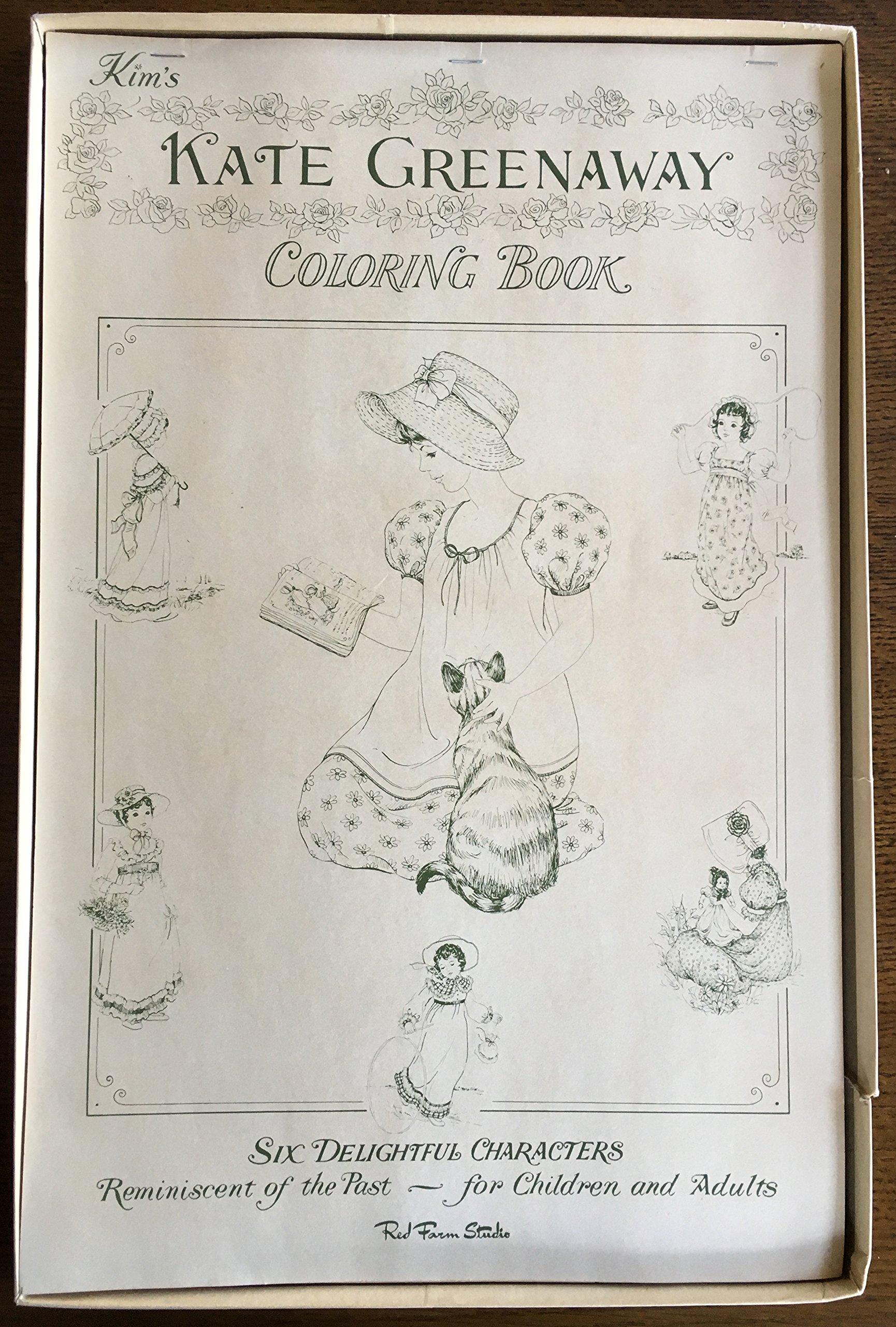 Kim\'s Kate Greenaway Coloring Book: Kate Greenaway: Amazon.com: Books